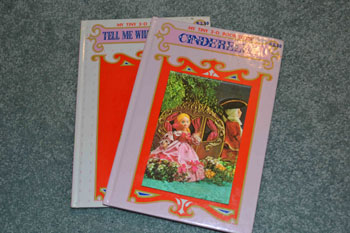 Cinderella and Time books
