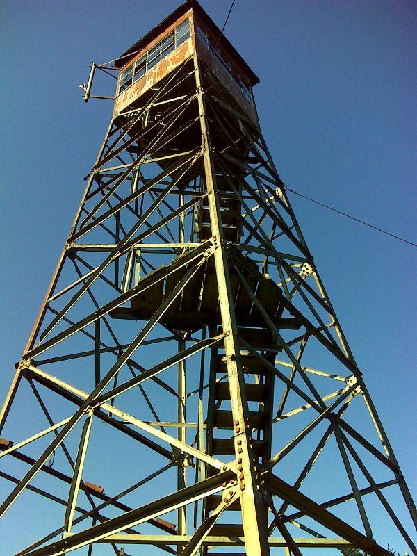 mm 10.2 Smarts Mountain firetower. GPS N43.8255 W72.0380 ...
