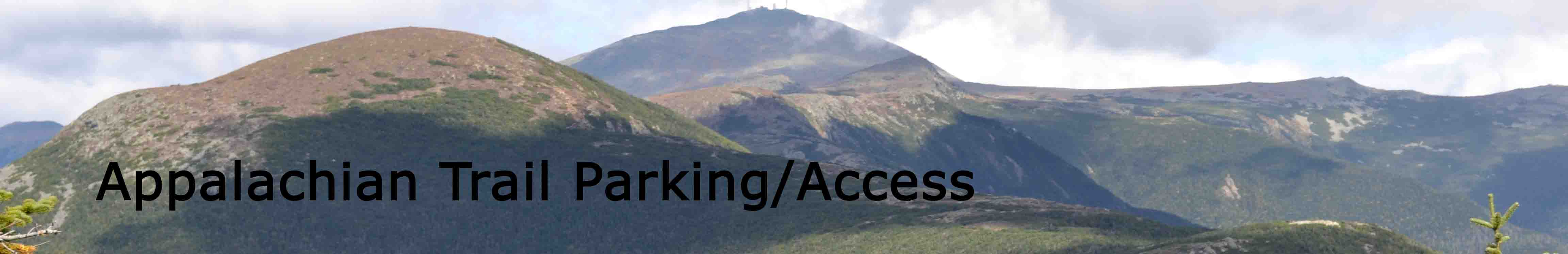 Appalachian Trail Parking Database